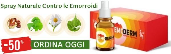 Gemoderm Naturale per Emorroidi