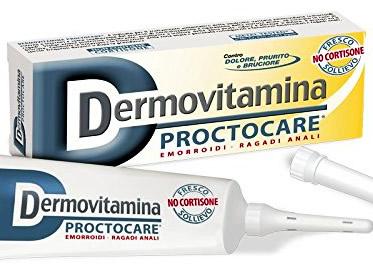 Dermovitamina Proctocare crema contro emorroidi e ragadi